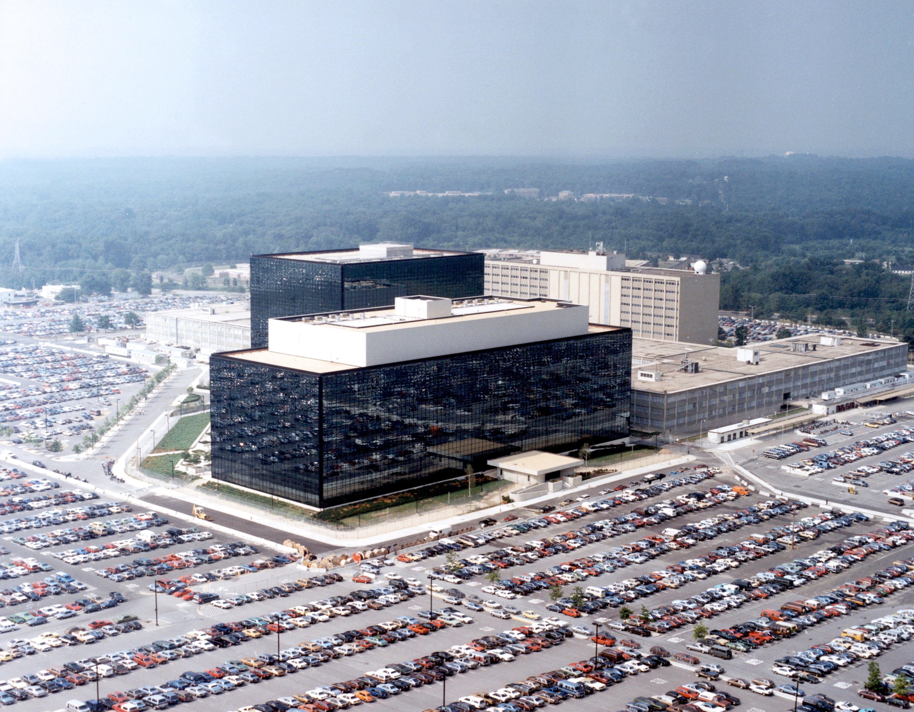 NSA Headquarters in Fort Meade, MD