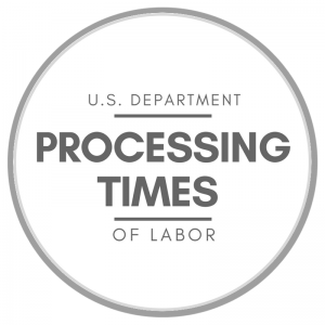 PROCESSING TIMES